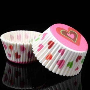 100Pcs/pack Cake Muffin Cupcake Paper Cups