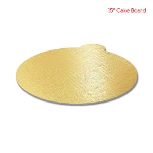 15 inch Square Sape Black cake board