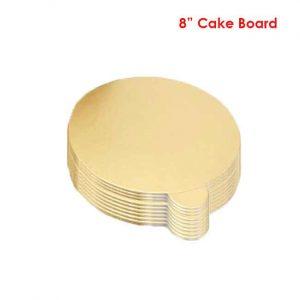 8 inch cake board 10peaches Combo
