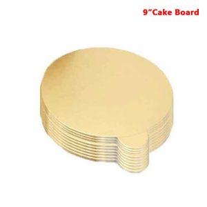 9 inch cake board 10peaches Combo