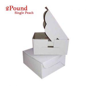 Folding Cake Box 2 Pound