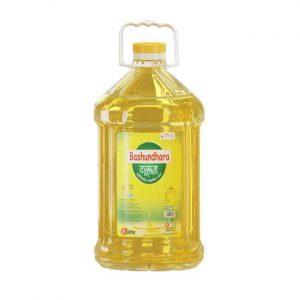 Bashundhara Fortified Soyabean Oil 5ltr (বসুন্ধরা সয়াবিন)