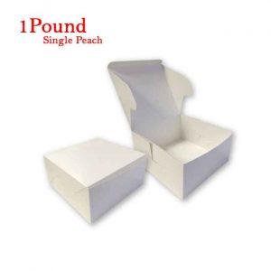 Folding Cake Box 1 Pound