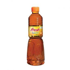 Fresh Mustard Oil 500ml (ফ্রেশ সরিষার তেল)