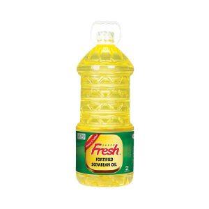Fresh Soyabean Oil 2ltr (ফ্রেশ সয়াবিন)