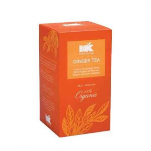 Kazi & Kazi Ginger Tea Bag 40Pcs (কাজি এ্যন্ড কাজি টি ব্যাগ)