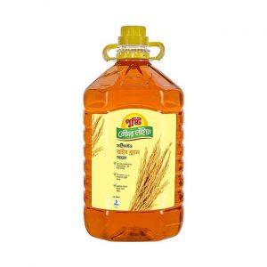 Pusti Better Life Rice Bran Oil 5ltr (পুষ্টি রাইচ ব্রান তেল)