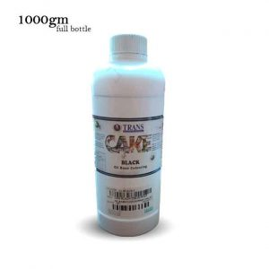Trans oil based food coloring Black 1kg