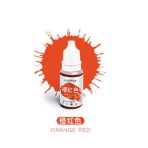 10ML Macaron Cream Food Coloring Orange Red