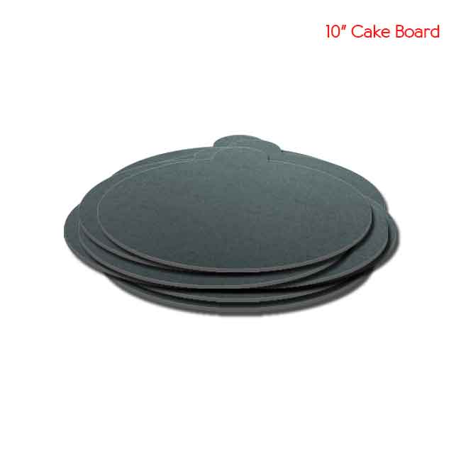 10 inch Black Cake board 10peaches Combo